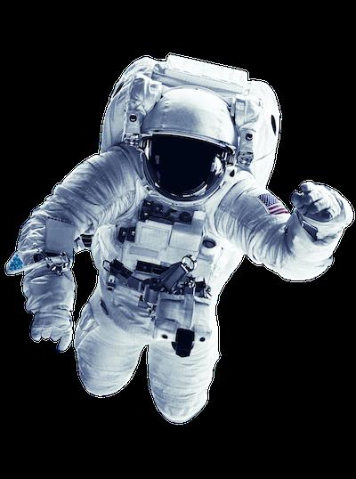 Der GAINER Astronaut