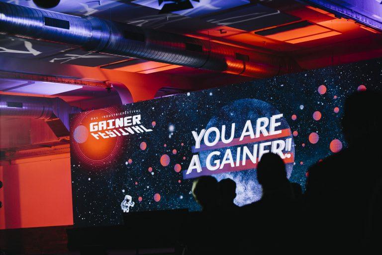 Die GAINER-Industriefestival Bühne