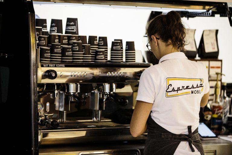 Foto des Espresso Mobils