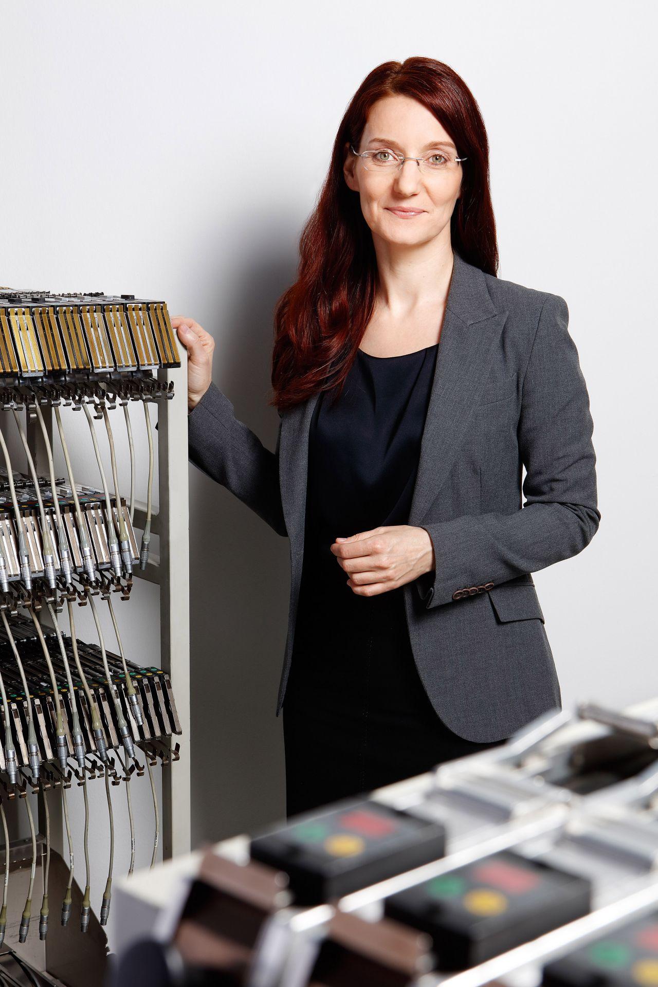 Martina Szabo, Produktionsleiterin Kapsch Components